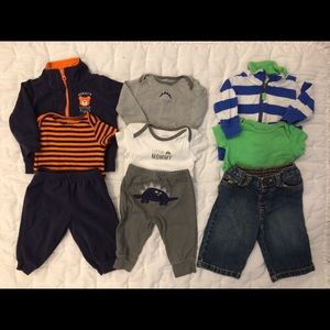 Lot of 3 -3pc Carter's Outfits- 3-6 mth